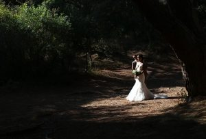 Exteriores de una boda en gibraltar
